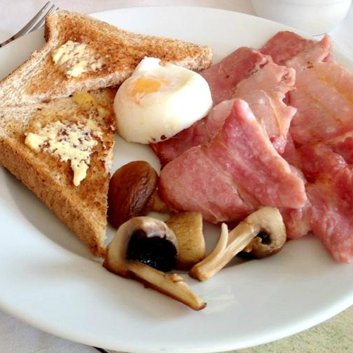 Traditional Freshly Cooked Full English Breakfast Cooked to Order