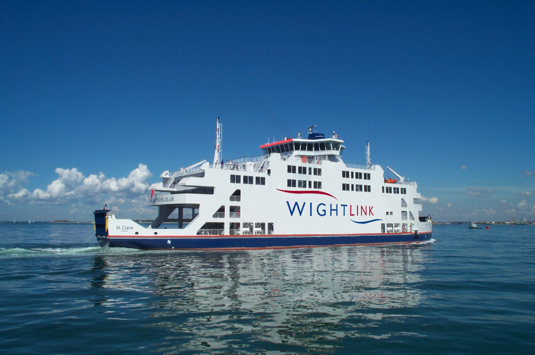 WightLink Crossings can be Included in your Booking